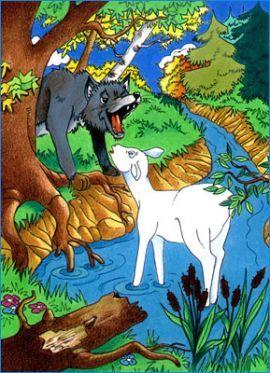 Imprimer Le Loup Projet Interdisciplinaire Cycle 2 Cp Ce1