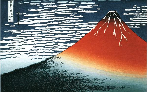 Vous avez quoi en fond d'écran ? Hokusai-fuji7